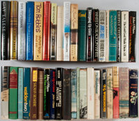 [Fiction and Literature]. Lot of Forty Modern Books. Various publishers, dates. Most in dust jackets. Many first edit