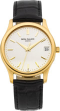 Timepieces:Wristwatch, Patek Philippe Ref. 3998 Very Fine Gent's Gold Center Seconds Automatic, circa 1998. ...
