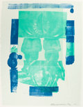 Post-War & Contemporary:Pop, ROBERT RAUSCHENBERG (American, 1925-2008). Castle (fromRomances), 1977. Color silkscreen. 40 x 31 inches (101.6 x 78.7...