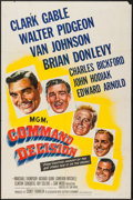 "Movie Posters:War, Command Decision (MGM, 1948). One Sheet (27"" X 41"") & Lobby Cards (6) (11"" X 14""). War.. ... (Total: 7 Items)"