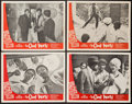 "Movie Posters:Crime, The Cool World (Cinema 5, 1964). Lobby Card Set of 4 (11"" X 14"").Crime.. ... (Total: 4 Items)"