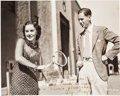 Autographs:Index Cards, Early 1930's Fay Wray Signed Photograph to Ellsworth Vines....