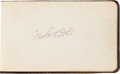 Autographs:Others, Early 1920's Autograph Album Signed by Babe Ruth, Jim Thorpe,More....