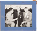 Autographs:Index Cards, 1943 Harry Wismer Signed Photograph to Ellsworth Vines....