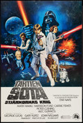 "Movie Posters:Science Fiction, Star Wars (20th Century Fox, 1977). Finnish Poster (16"" X 24"").Science Fiction.. ..."