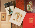 Books:Art & Architecture, [Illustration]. Group of Eight Items Related to Art and Illustration. Includes an Album of Victorian Die-cuts, an 1894 Calenda... (Total: 8 Items)