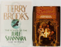 Books:Science Fiction & Fantasy, Terry Brooks. Group of Two First Edition, First Printing Books, One Signed. Includes: The Sword of Shannara and ... (Total: 2 Items)