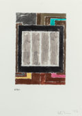 Post-War & Contemporary:Contemporary, PETER HALLEY (American, b. 1953). Untitled, 1998. Metallicacrylic on paper. 11 x 8-1/2 inches (27.9 x 21.6 cm). Signed ...