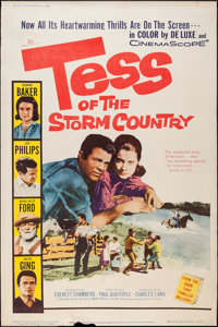 "Tess of the Storm Country and Others Lot (20th Century Fox, 1960). Posters (4) (40"" X 60""). Drama. ... (Total:..."
