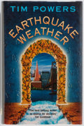 Books:Science Fiction & Fantasy, Tim Powers. SIGNED. Earthquake Weather. Legend, 1997. Firstedition, first printing. Signed by the author. Light...