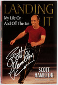 Books:Biography & Memoir, Scott Hamilton. SIGNED. Landing It: My Life On and Off theIce. Kensington, 1999. First edition, first printing....