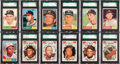 Baseball Cards:Sets, 1961 Topps Baseball High Grade Complete Set (587) With Over 200 SGC Graded Cards! ...