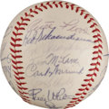 Autographs:Baseballs, 1964 St. Louis Cardinals Team Signed Baseball from The Stan MusialCollection....