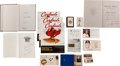 Baseball Collectibles:Others, Stan Musial Ephemera Lot with Books, Playing Cards....