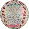 Autographs:Baseballs, 1960 National League All-Star Team Signed Baseball from The Stan Musial Collection....