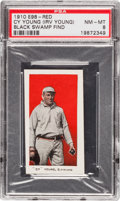 """Baseball Cards:Singles (Pre-1930), 1910 E98 """"Set of 30"""" Cy Young, Red PSA NM-MT 8 - Black Swamp Find. ..."""