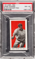 "Baseball Cards:Singles (Pre-1930), 1910 E98 ""Set of 30"" Honus Wagner, Red PSA NM-MT 8 - Black SwampFind. ..."