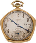 Baseball Collectibles:Others, 1923 New York Yankees World Championship Pocket Watch--The First Yankees Championship Award!...
