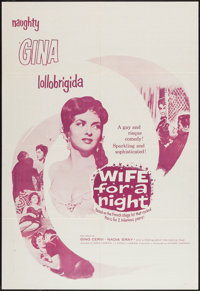 """Wife for a Night and Other Lot (Edward Harrison, 1958). One Sheets (2) (27"""" X 41""""). Comedy. ... (Total: 2 Item..."""