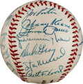 Autographs:Baseballs, 1959 St. Louis Cardinals Team Signed Baseball from The Stan MusialCollection....