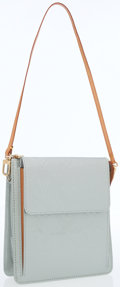 Luxury Accessories:Bags, Louis Vuitton Silver Monogram Vernis Leather Mott Bag . ...