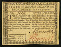 Colonial Notes:Rhode Island, Rhode Island July 2, 1780 $7 About New.. ...
