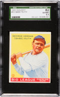 Baseball Cards:Singles (1930-1939), 1933 Goudey Babe Ruth #53 SGC 82 EX/NM 6.5....