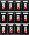 """Non-Sport Cards:Sets, 1930 R8-1 Peco Candy """"Peco Airplane Pictures"""" Type 1 Complete Set(28). ..."""