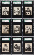 Football Cards:Lots, 1948 Bowman Football SGC 88 NM/MT 8 Collection (16). ...