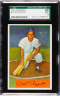 Baseball Cards:Singles (1950-1959), 1954 Bowman Phil Rizzuto #1 SGC 96 Mint 9 - SGC's Finest!...