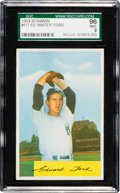 Baseball Cards:Singles (1950-1959), 1954 Bowman Whitey Ford #177 SGC 96 Mint 9 - Pop Three, NoneHigher! ...