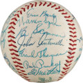 Autographs:Baseballs, 1958 National League All-Star Team Signed Baseball from The StanMusial Collection....
