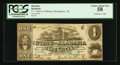 Obsoletes By State:Alabama, Montgomery, AL- The State of Alabama $1 Jan. 1, 1863 Cr. 1. ...