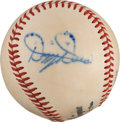 Autographs:Baseballs, 1940's Dizzy Dean Single Signed Baseball....