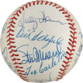 Autographs:Baseballs, 1970's St. Louis Cardinals Old Timers Day Multi-Signed Baseballfrom The Stan Musial Collection....