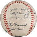 Autographs:Baseballs, 1946 National League All-Star Team Signed Baseball from The Stan Musial Collection....
