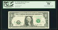 Fr. 1933-K $1 2006 Federal Reserve Note. PCGS About New 50