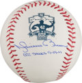 Autographs:Baseballs, 2011 Mariano Rivera Single Signed Career Saves Record Baseball....