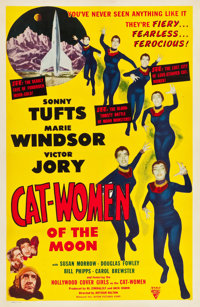"Cat-Women of the Moon (Astor Pictures, 1954). One Sheet (27"" X 41"")"
