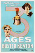 "Movie Posters:Comedy, Three Ages (Metro, 1923). One Sheet (27.5"" X 41"").. ..."