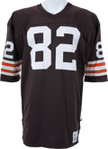 Football Collectibles:Uniforms, 1980-85 Ozzie Newsome Game Worn Cleveland Browns Durene Jersey. ...