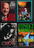 Movie Posters:Action, The Crow, The Story Behind the Film and Other Autographed Books Lot (Miramax, 1994. Autographed Hardbound Books with Dustco... (Total: 4 Items)