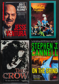 The Crow, The Story Behind the Film and Other Autographed Books Lot (Miramax, 1994. Autographed Hardbound Books with Dus...