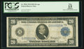 Large Size:Federal Reserve Notes, Fr. 991b $20 1914 Federal Reserve Note PCGS Apparent Fine 15.. ...
