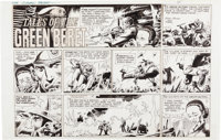 Joe Kubert Tales of the Green Beret Sunday Comic Strip Original Art dated 7-31-67 (Chicago Tribune, 1967)
