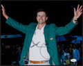 Golf Collectibles:Autographs, Adam Scott Signed Oversized Photograph - 2013 Masters Winner....