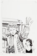 Original Comic Art:Covers, Dave Sim Doctor Who: Prisoners of Time #6 Cover Original Art(IDW, 2013). ... (Total: 6 Items)