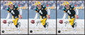 Football Collectibles:Photos, Brett Favre Signed Photographs Lot of 3. ...