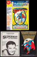 Movie Posters:Action, Superman Book Lot with One Autographed by Kirk Alyn (Various,1979-1989). Hardbound Book, and Softbound Books (2) (Multiple ...(Total: 3 Items)