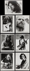 """Movie Posters:Rock and Roll, Woodstock (Warner Brothers, 1970). Photos (7) (8"""" X 10""""). Rock andRoll.. ... (Total: 7 Items)"""